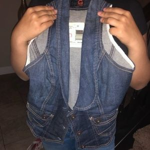 Denim Vest by Guess